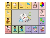 AAC - Aided Language Communication Board for Art Center