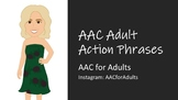AAC Around the House Action Phrases