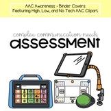 AAC Awareness - Complex Communication Needs - Binder Covers