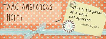 AAC Awareness Facebook Banner # 2