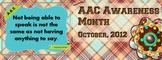 AAC Awareness Facebook Banner