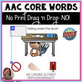 AAC BOOM™ Core Word NO Digital No Print Activity speech
