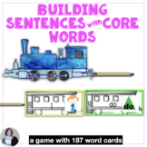 AAC Core Vocabulary Activities | Building Sentences with C