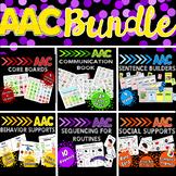 AAC Bundle: Core Vocabulary, Communication Book, Speech Th