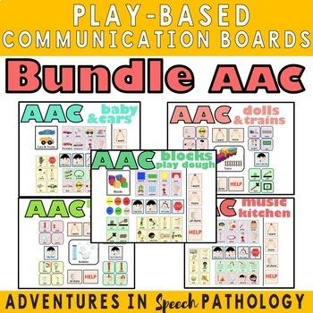AAC Bundle: Play-Based Communication & Choice Boards