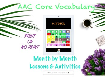 AAC CORE VOCABULARY MONTH BY MONTH-OCTOBER