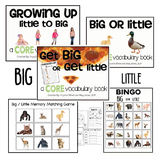 AAC CORE Words BUNDLE Big Little