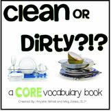 AAC CORE Words BUNDLE Dirty Clean