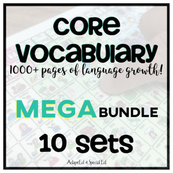 AAC CORE Words MEGA BUNDLE