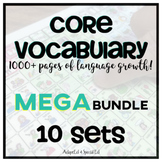 Special Education CORE Vocabulary AAC BUNDLE