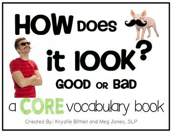 AAC CORE Words BUNDLE Good Bad