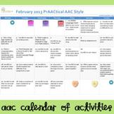 AAC Calendar, February 2013