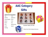 AAC Category Gifts, Proloquo2go, Augmentative Communication, Speech Therapy