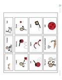 Playing Ball AAC/Communication Board