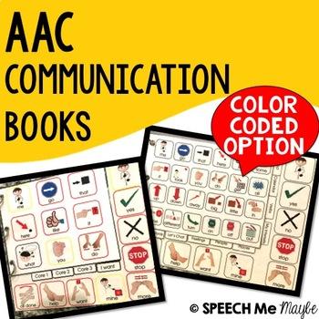AAC Communication Book