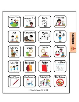 AAC Communication Book for Nonverbal Communication, ASD, Speech tx