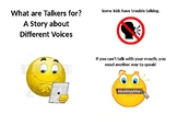 AAC Communication Device Social Story