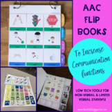 AAC Communication Flipbooks- Non-verbal & Limited Verbal Students With Autism