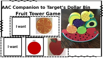 AAC Companion to Fruit Tower (Target Dollar Bin Find!)