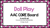 AAC Core Board-Doll Play