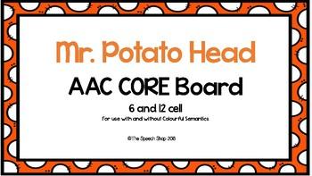 AAC Core Board-Mr. Potato Head