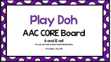 AAC Core Board-Play Doh