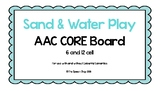 AAC Core Board-Sand and Water Play