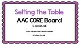 AAC Core Board-Setting the Table