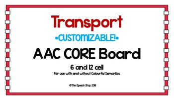AAC Core Board-Transport (CUSTOMIZABLE)