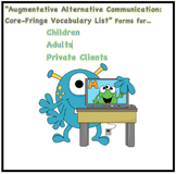 AAC Core/Fringe Vocabulary Needs