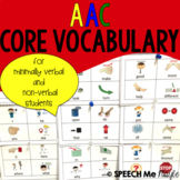 AAC Core Vocabulary