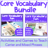 AAC Core Word Activities and Games Bundle