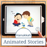 AAC Core Vocabulary Animated Stories: Hanukkah