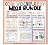 AAC Core Vocabulary   Functional Classroom Decor Bundle  