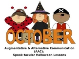 AAC Core Vocabulary: SPOOK-tacular Halloween Activities for Language Therapy