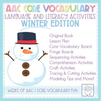 AAC Core Vocabulary Language and Literacy PAACK - Winter