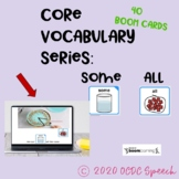 AAC Core Vocabulary Series:  SOME & ALL
