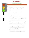 AAC Core Vocabulary of the Week - STOP and GO