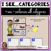 AAC Core Word I See Sentences with Categories Speech Inter