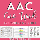 AAC Core Word Of The Week Supports: Full Year Guide