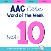 AAC Core Word of the Week: Set 10