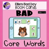 AAC Core Words: Bad BOOM Cards