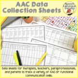 AAC Data Collection sheets
