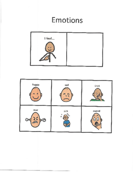 AAC - Emotions