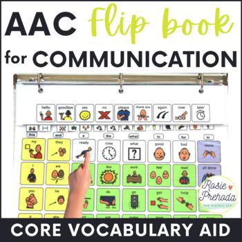 High Level AAC Flip Communication Book