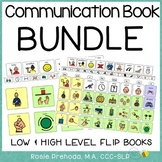 AAC Flip Communication Book BUNDLE