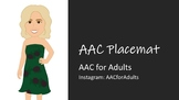 AAC Food Placemat