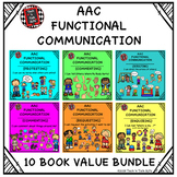 AAC Functional Communication - 10 BOOK VALUE BUNDLE