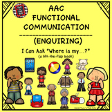 AAC Functional Communication - I CAN ASK 'WHERE'!  A Lift-