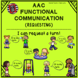 AAC Functional Communication - I CAN REQUEST A TURN!